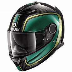 Shark Spartan Carbon - shark spartan carbon 1 2 priona carbon green gold