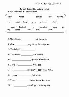 verbs worksheet year 1 by joop09 teaching resources tes