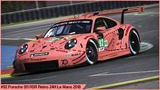 92 Porsche Retro 24h Le Mans 2018 By Sergio Hernando
