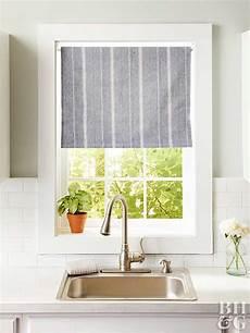 Kitchen Curtains Diy by 14 Diy Kitchen Window Treatments Better Homes Gardens