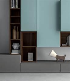 meuble de salon modulable slim modular furniture closeup mare design center