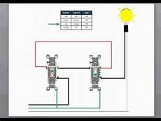 3 way switch wiring youtube