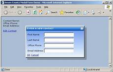 smum county modal form for asp net codeproject