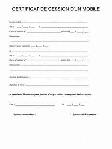certificat de cession de véhicule 2018 11 attestation de cession de vehicule empereur