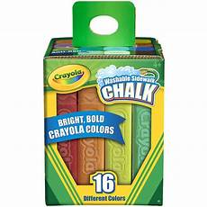Amazon Com Chalk City Sidewalk Chalk 20 Count Amazon Com Crayola 16 Count Sidewalk Chalk Toys Games