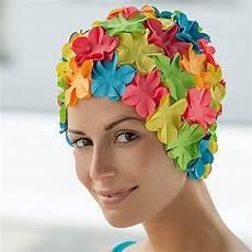bonnet de bain femme fantaisie 224 fleurs abysse sport