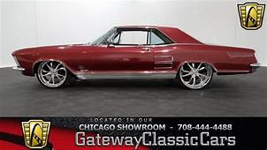 1963 Buick Riviera GS Gateway Classic Cars Chicago 888