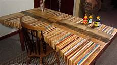 Diy Inspiration Stacked Wood Pallet Desk Make