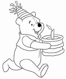 Winnie Puuh Geburtstag Ausmalbilder Winnie The Pooh Coloring Pages Birthday Winnie The Pooh
