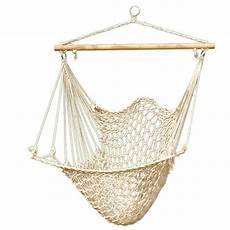 hanging swing hammock cotton swing cing hanging rope new chair wooden