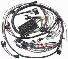 1977 el camino fuse box m h 1965 el camino dash instrument panel harness all w ss gauges opgi