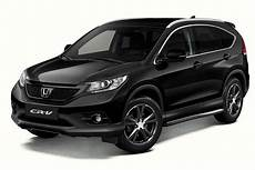 Honda Cr V Black Edition Launched Autoevolution