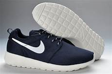 nike roshe run mesh womens trainers blue white