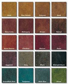 stained polished concrete color chart concrete floors stained concrete concrete color