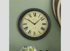 Roger Lascelles Clocks 45cm Lascelles Station Wall Clock