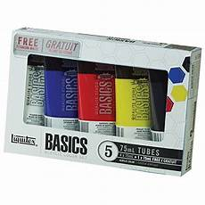 acrylic paint primary colors com
