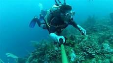 scuba diving gopro hero 3 silver part 1 youtube