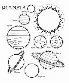solar system planets for worksheet printable solar system coloring sheets for