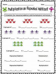repeated addition worksheets grade 3 9194 repeated addition multiplication and addition worksheets on