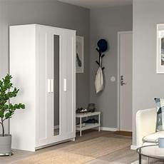 Brimnes Armoire Penderie 224 3 Portes Blanc Ikea