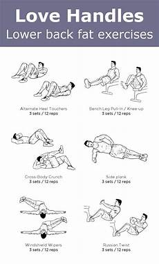 simple exercises to help you get rid of love handles