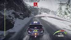 wrc 7 ps4 2017 gameplay monte carlo rally all 4