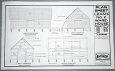 Ho Scale Building Plans | william roaders knowing model railroad scratch building plans