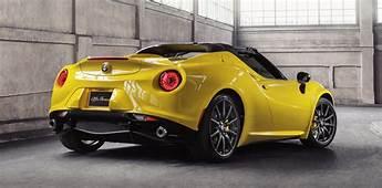 Alfa Romeo 4C Spider Gets Sub $100K Price Tag  Photos
