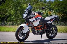 ktm 1050 adventure travel pack ready to travel