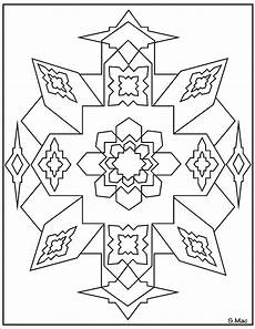 Coloring Geometric Pages Geometric Coloring Pages S Mac S Place To Be