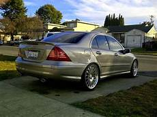 mercedes c230 kompressor on r19 carlsson rims w203