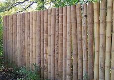 sichtschutz garten selber bauen sichtschutz aus bambusrohr selber bauen halbschalen