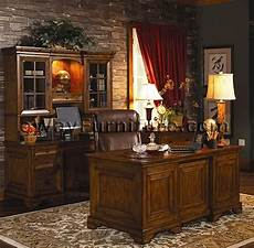 oak office furniture for the home rustic americana hardwood executive desk home office