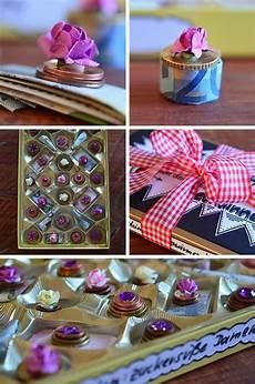 Geldgeschenk In Pralinenschachtel Verpacken Geschenke