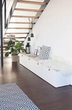 sitzbank im flur aus ikea best 229 muebles de entrada