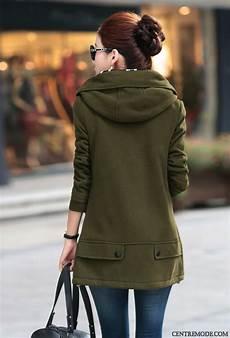 manteau femme hiver avec capuche manteau noir femme pas