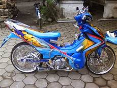 Modifikasi Jupiter Mx 2007 by Modifikasi Motor Jupiter Mx Airbrush Thecitycyclist