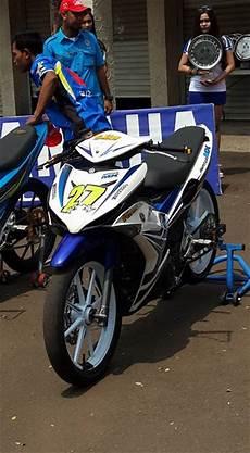 Mx King Modif Road Race by Yamaha Mx King 150 Benar Benar Jadi King Di Balap Tasik