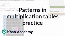 shapes pattern worksheets for grade 1 1234 patterns in multiplication tables practice multiplication and division 3rd grade khan