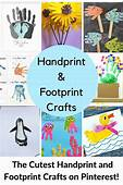Cute Handprint And Footprint Crafts  Princess Pinky Girl