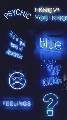 Neon Wallpaper Aesthetic Blue