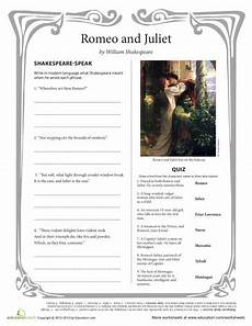 romeo and juliet worksheet shakespeare in the classroom school worksheets romeo juliet