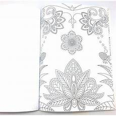set of 4 adult coloring books floral theme livingdeal