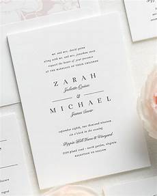 Wedding Invites Letterpress