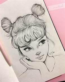 mädchen zum zeichnen anime madchen frisuren zeichnen