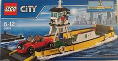 bateau bac pour voitures lego city 60119 from sort