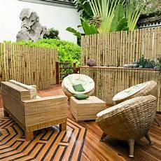Bambus Sichtschutzzaun Natur 3 Gr 246 223 En Volle