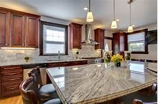 Boston Kitchen Bathroom And Furniture Store by Viscont White Granite Countertops With Cherry Cabinets