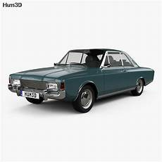 Ford Taunus P7 20m Coupe 1968 3d Model Vehicles On Hum3d