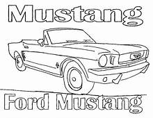 Ford Mustang High Power Car Coloring Pages  Best Place To